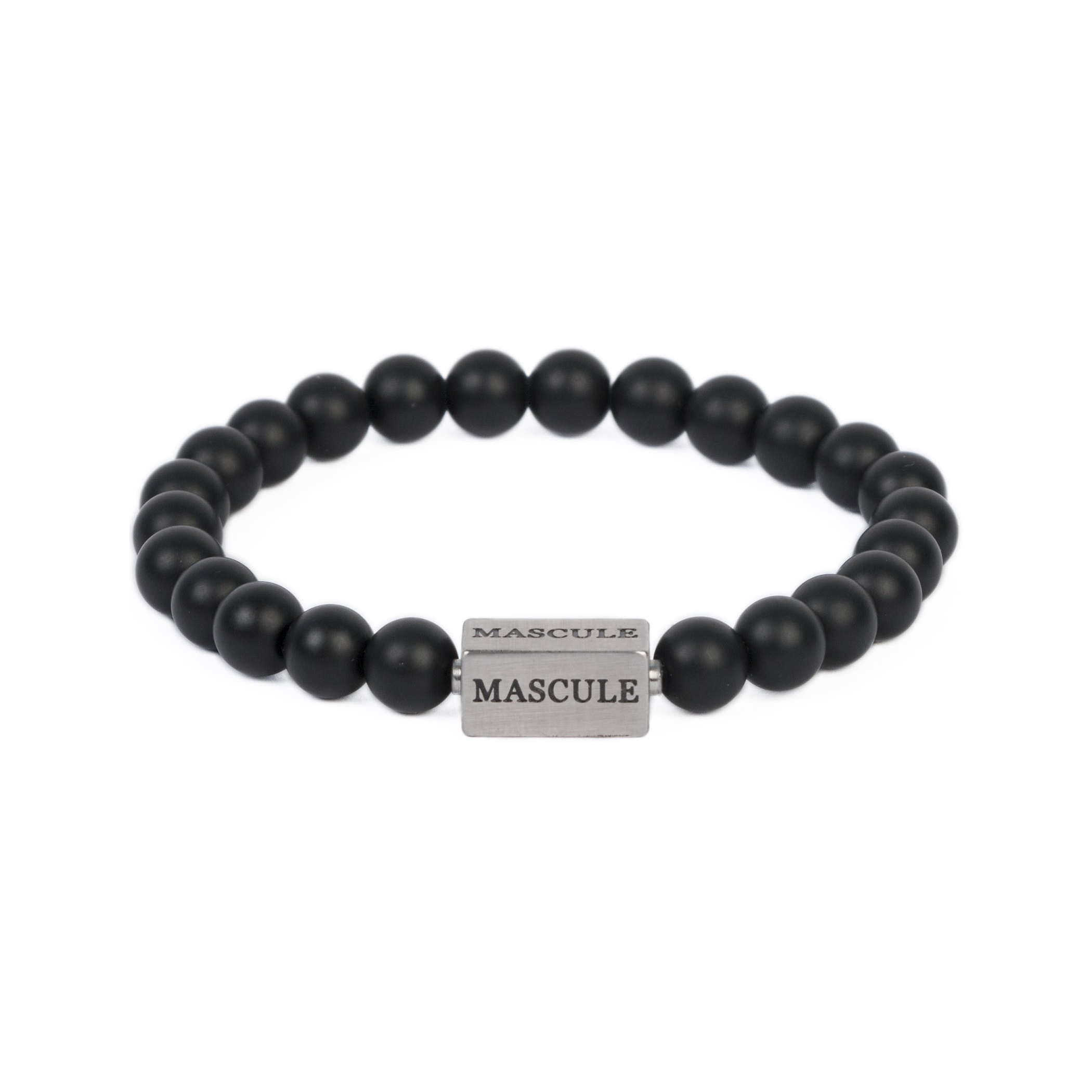 Dark_frosted_- Mens Beaded Bracelet - onyx_matte_MAS8101_8mm.jpg