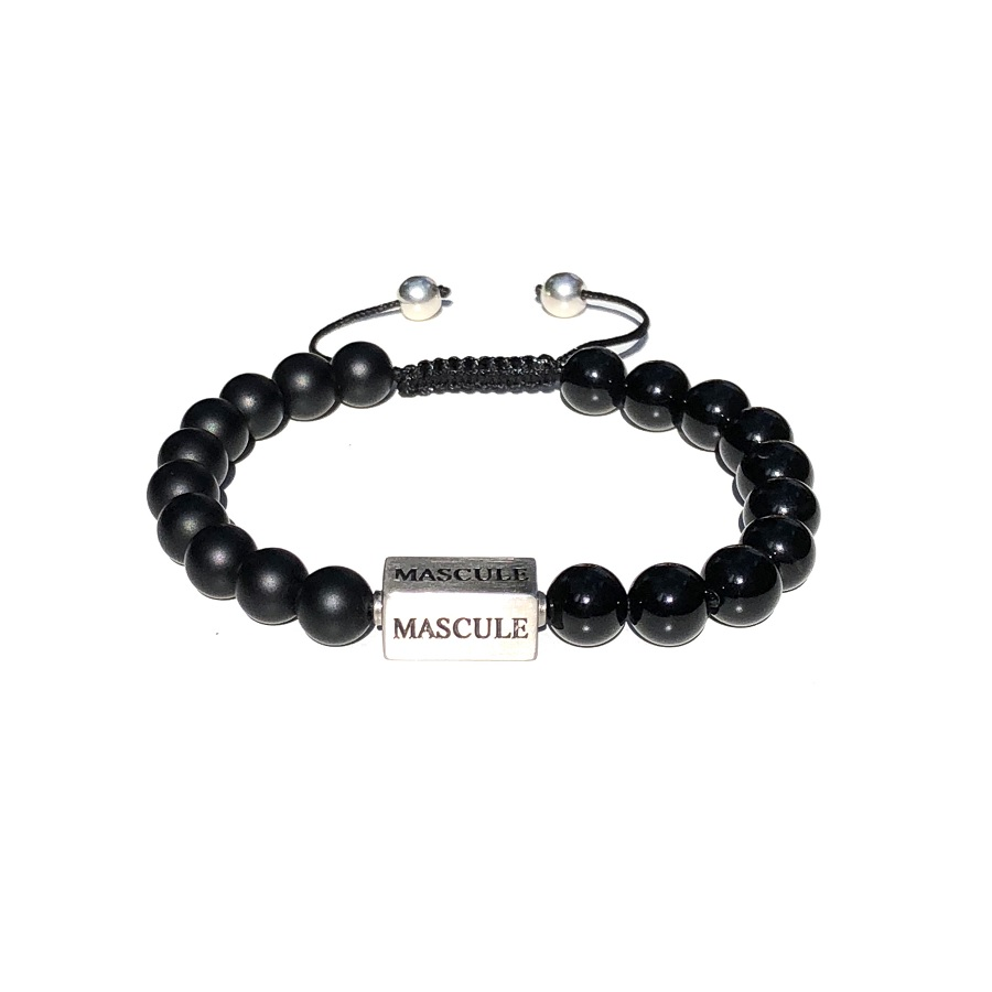 Mens Beaded Bracelet - MAS1609-shamballa-dark-one.jpg