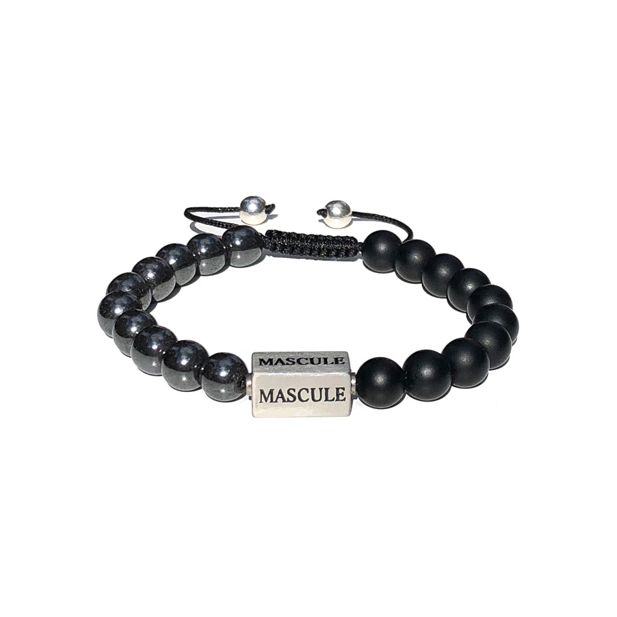 Mens Beaded Bracelet - MAS1615-shamballa-krypton-frosted.jpg